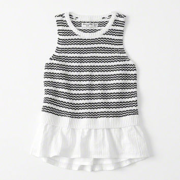 girls Twofer Sweater Tank | girls clearance | Abercrombie.com
