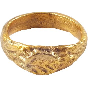 MEDIEVAL GIRL'S OR WOMAN'S RING, 7th-10th CENTURY