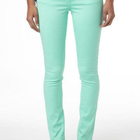 Olivia Mint Leaf Jegging