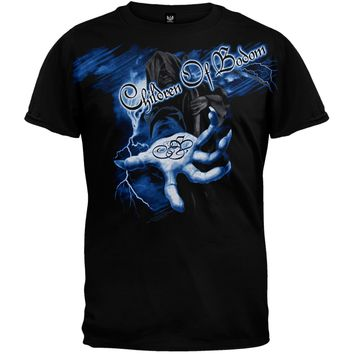 Children Of Bodom - Reaper Lightning Hand T-Shirt