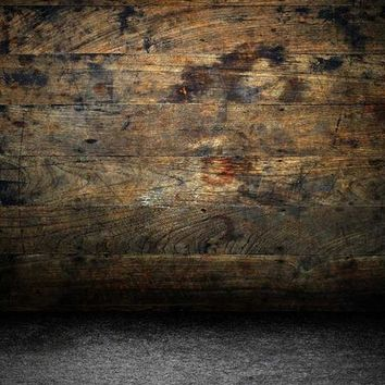 TIMBER WOOD WALL WITH FLOOR BACKDROP 10x10 - LCPC137 - LAST CALL