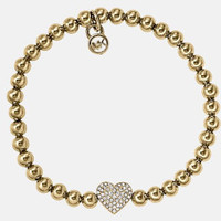 Awesome Great Deal Hot Sale Gift Shiny New Arrival Diamonds Vintage Stylish Heart Bracelet [8573752141]