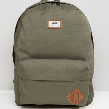 Vans Old Skool II Backpack In Green V00ONIKCZ