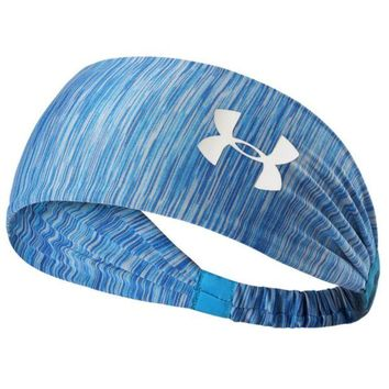 DCCKB62 under Armour Sport Crochet Headwrap Headband Warmer Head Hair Band Blue