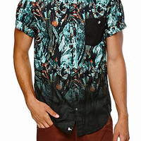 Modern Amusement Cockoo Short Sleeve Woven Shirt at PacSun.com