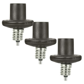 AmerTac 60-Watt Candelabra Light Control, Bronze, 3-Pack
