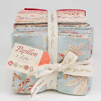 Papillon Fat-Eighths fabric bundle by 3 Sisters for Moda Fabrics, 5 yards of fabric, US shipping included