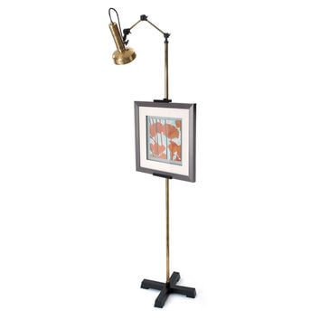Table Lamp, Easel Floor Lamp, Brass, Table Lamps