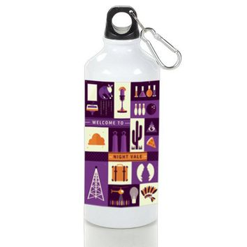 Gift Sport Bottles | Supernatural Night Vale Art Aluminum Sport Bottles