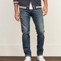 Selvedge Straight Everyday Stretch Jeans