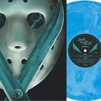 Friday the 13th Part V: A New Beginning Original Motion Picture Soundtrack [Exclusive Blue Swirl Vinyl] by Harry Manfredini - New on Vinyl | FYE