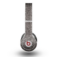 The Black Glitter Ultra Metallic Skin for the Beats by Dre Original Solo-Solo HD Headphones