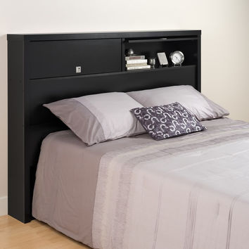 Black Series 9 Designer Full / Queen 2 Door Headboard