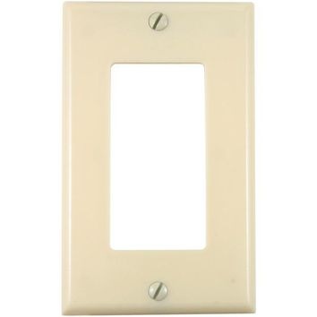 Union(R) 80401-I Residential-Grade Decor Wall Plate (Single gang, Ivory)