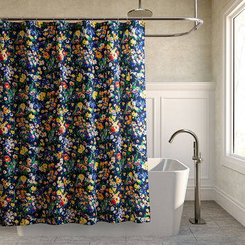 Teen Vogue Folksy Floral Shower Curtain