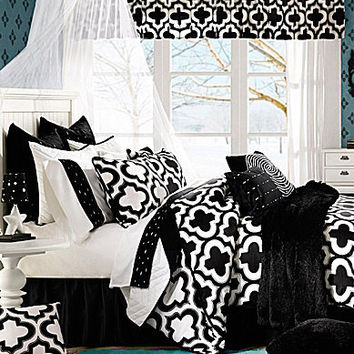 Studio D Zina Black Bedding Collection | Dillards.com