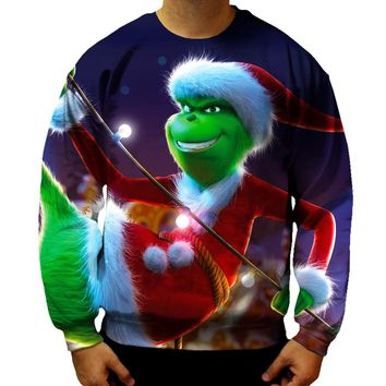 The Grinch Smile Sweatshirt