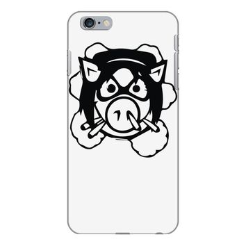 pig wheels angry iPhone 6 Plus/6s Plus Case