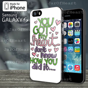 Ariana Grande Lyric Cover Design Case for iphone 4/4S,iphone 5/5S/5C or Samsung Galaxy S3/S4/S5