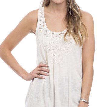 On A Whim Crochet Tank Top