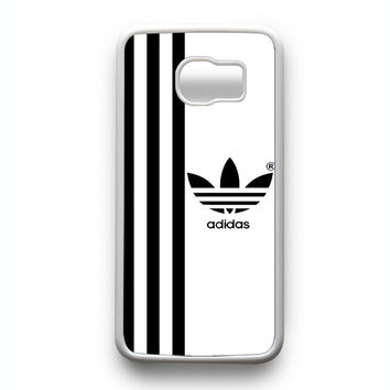 Adidas strips White Samsung Galaxy S6 Edge Case