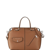 Marc Jacobs The Edge Leather Satchel Bag, Oak