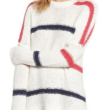 cupcakes and cashmere Madden Stripe Sweater | Nordstrom
