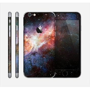 The Multicolored Space Explosion Skin for the Apple iPhone 6