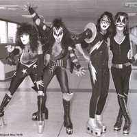 KISS London Airport 1976 Poster 24x33