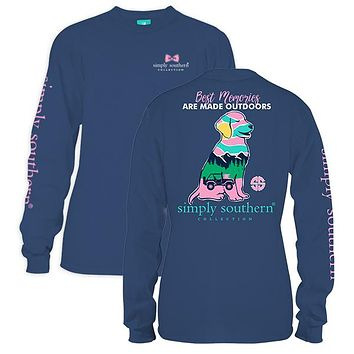 "*Closeout* Youth Simply Southern Long Sleeve - ""Memories"""
