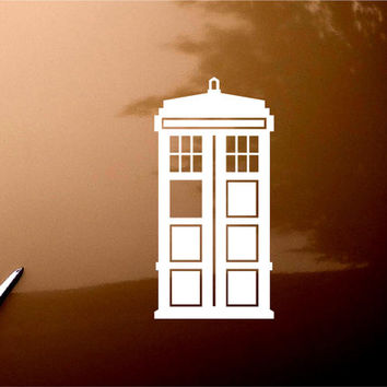 Doctor Who Tardis iPad Car Notebook Decal Sticker