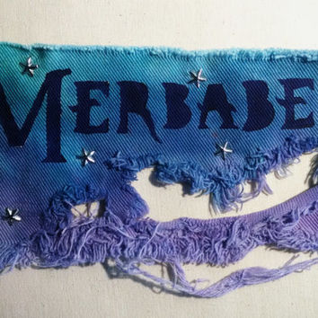 Studded, Ripped Merbabe Patch