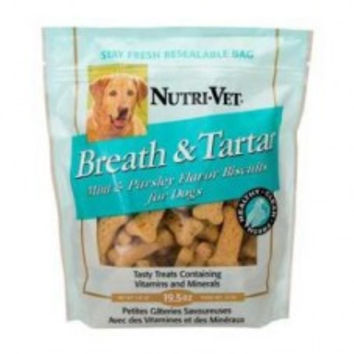 Breath & Tartar Mint & Parsley Medium Biscuit  (2 Pack)
