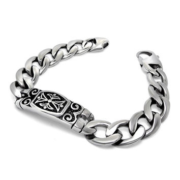 New Arrival Great Deal Shiny Gift Awesome Hot Sale Ladies Stylish Vintage Punk Strong Character Accessory Titanium Bracelet [6542612931]