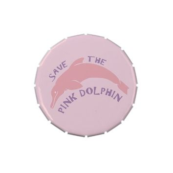 Save the Pink Dolphin Jelly Belly Tins