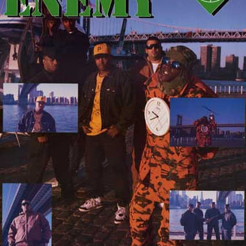 Public Enemy What Side You On? 1994 Poster 22x34