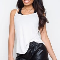 Tillie Tank Top - White