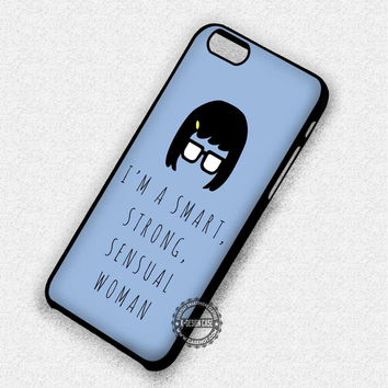 Her Figure And Quotes - iPhone 7 Plus 6 SE Cases & Covers