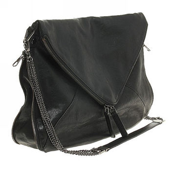 Cross Body Bag Messenger Bag with Chain Strap