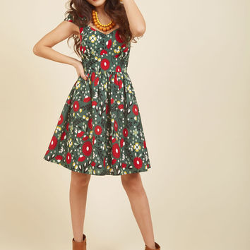 Fa La La Lovely Cotton Dress | Mod Retro Vintage Dresses | ModCloth.com