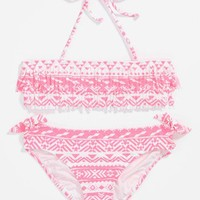 Roxy Two Piece Swimsuit (Little Girls & Big Girls) (Special Purchase) | Nordstrom