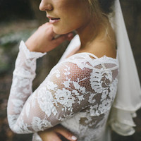 Gorgeous long lace sleeves perfect for wearing by Graceloveslace