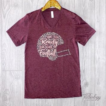 Are You Ready Football Tee