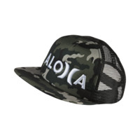 Hurley Aloha Trucker Boys' Adjustable Hat Size 1SZ (Black)