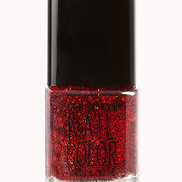 Crystal Red Nail Polish