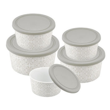 Danico Imperial® collection Round Porcelain  Nesting Food Container