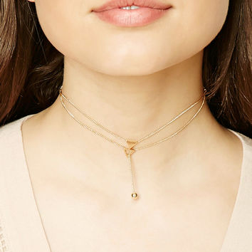Triangle Chain Link Choker