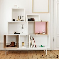 DESIGNDELICATESSEN.COM - Muuto - Stacked Shelf (with Backing)