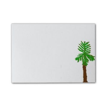 Palm Tree Post-It Notes