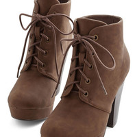 ModCloth Come Haute on Top Bootie